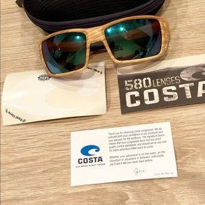 Costa Permit Sunglasses-Polarized Mirror 580P Lens